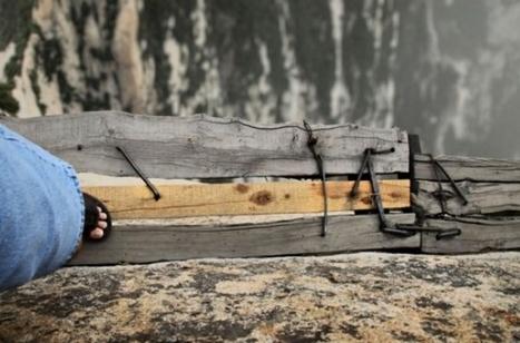 Chine : un chemin dans la montagne pour jouer avec la mort | Un peu de tout et de rien ... | Scoop.it
