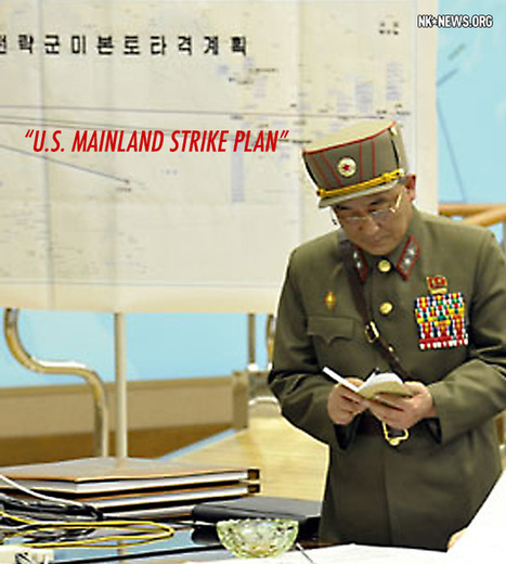Update:South Korean intelligence agencies have spotted increased activity on North Korean mid-to-long range missile platforms -NK Photo Reveals 'U.S. Mainland Strike Plan' | Wars and Rumours of Wars | Scoop.it