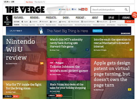 Magic of the GRID: 60+ Website Grid Design Examples Inspire | Design | Scoop.it