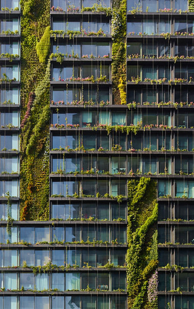 Jean Nouvel's Sydney towers boast vertical gardens and a huge sunlight reflector | 建築 | Scoop.it