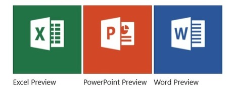 Using the new Office apps on a Windows 10 tablet   ZDNet   SharePoint   Scoop.it