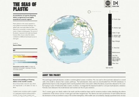 The Seas of Plastic | Visual.ly | green infographics | Scoop.it
