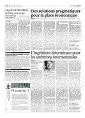 L'ingrédient déterminant pour les ambitions internationales - L'AGEFI (Abonnement)   spiruline nuternel   Scoop.it