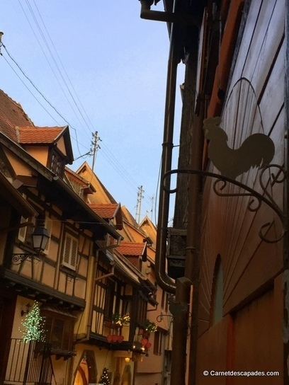 Noël en Alsace – Marché de Noël d'Eguisheim | Carnet d'escapades | Scoop.it