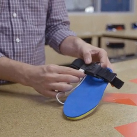 SolePower Shoe Insole Charges Your Phone While You Walk | Technology in Business Today | Scoop.it