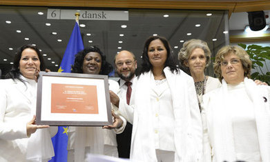 Cubans collect human rights prize eight years late | Human Rights Issues: The Latest News | Scoop.it
