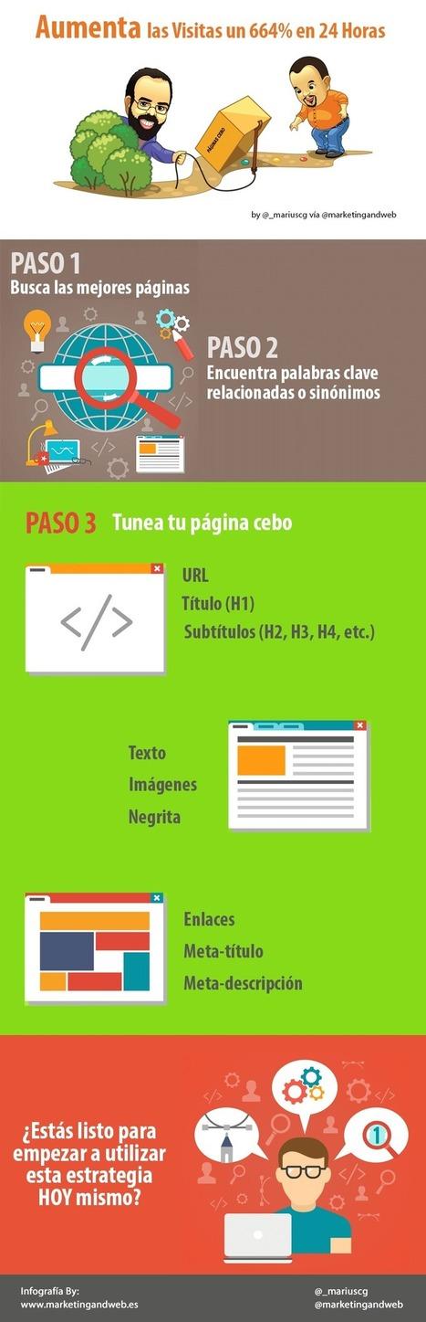 Cómo Aumentar las Visitas un 664% en 24 Horas | Francisco Javier Márquez Estrada | Scoop.it