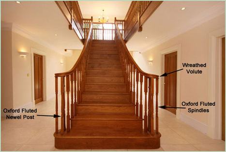 Curved Staircase | Home Improvement | Scoop.it