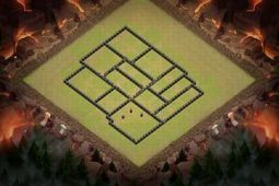 Hill of Himring - New Anti-3 Star Base for Town Hall 9 | Clash of Clans Tips | Scoop.it