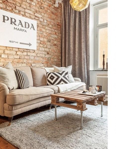 Les petites surfaces du jour : la brique fait le show | PLANETE DECO a homes world | habitat et deco | Scoop.it