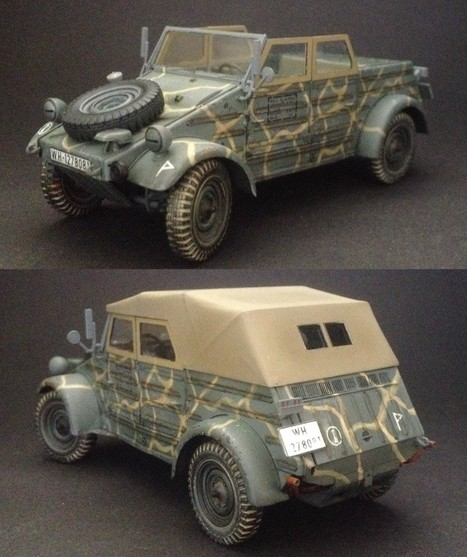 VW jeep type 82 | Military Miniatures H.Q. | Scoop.it