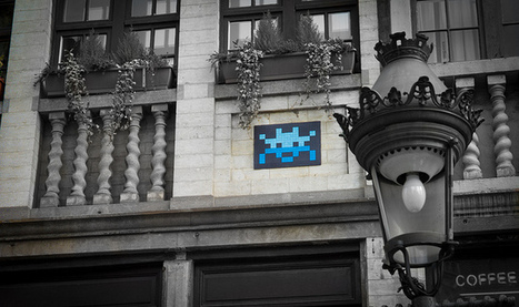 Pixel Monsters Invade Brussels | D_sign | Scoop.it