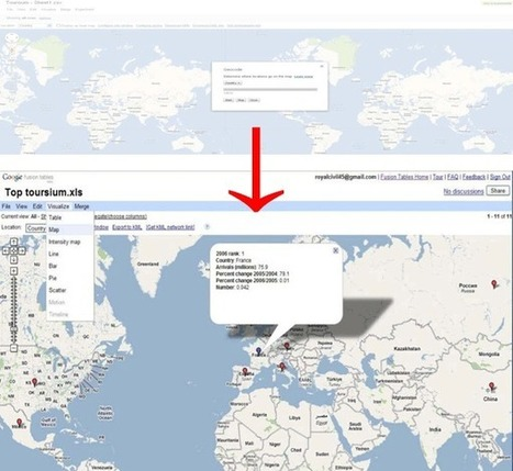 How To Import Data and Make Maps with Google Fusion Tables | #Fusion Tables | Scoop.it