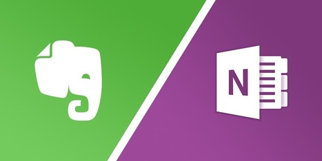 Evernote vs OneNote: The Best App for Note-Taking, Researching and Organizing? | CiberOficina | Scoop.it