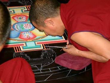 BBC - Religion & Ethics - In pictures: Sand mandala | Religion in the world | Scoop.it