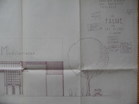 Alerte patrimoine, Garage Opel, Saint-Cyprien, Toulouse   Architectures moderne et contemporaine parcoursdarchitecture.over-blog.com   Scoop.it