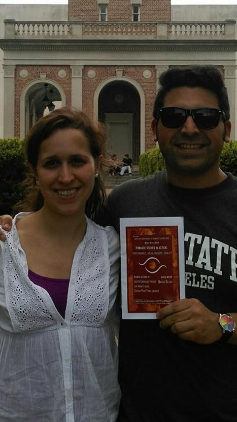 Pilar Osorio and Santiago Vidales in North Carolina | The UMass Amherst Spanish & Portuguese Program Newsletter | Scoop.it