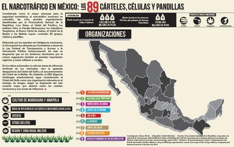 Infografía: Los 89 cárteles, células y pandillas   Seguridad, terrorismo y narcotráfico   Scoop.it