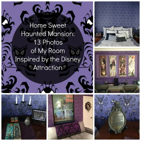 Home Sweet Haunted Mansion: 13 Photos of My Room Inspired by the Disney Attraction | Walt Disney World Parks and Resorts | Scoop.it