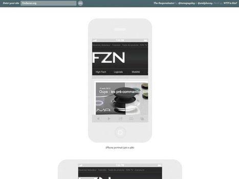 Responsinator : à quoi ressemble mon site sur les smartphones et les tablettes ? | Time to Learn | Scoop.it