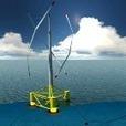L'éolienne flottante commence à se dresser au large de Fos-sur-mer - Techniques de l'Ingénieur | Eolien en mer | Scoop.it
