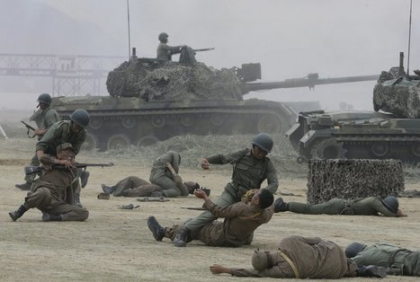 These reenactment photos show how brutal the pivotal battle of the Korean War was | A WORLD OF CONPIRACY, LIES, GREED, DECEIT and WAR | Scoop.it