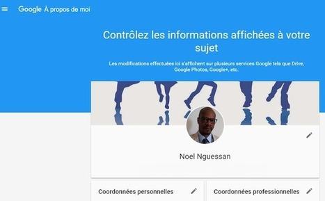 Google lance About Me pour gérer votre profil dans tous ses produits. Quid de Google+ ? - Arobasenet.com | Orangeade | Scoop.it