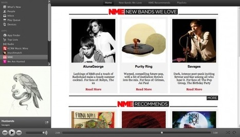 NME Launches Music Recommendation App For Spotify | MUSIC:ENTER | Scoop.it