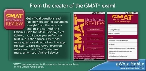 Official Guide for GMAT Review v1.3 (paid) apk download | ApkCruze-Free Android Apps,Games Download From Android Market | gvnmn | Scoop.it