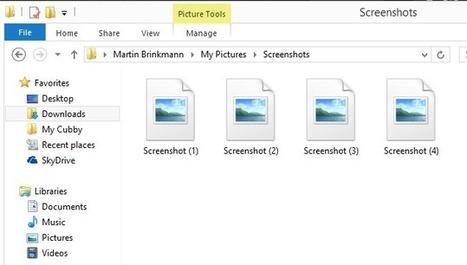 Create quick screenshots in #Windows8   Desktop OS - News & Tools   Scoop.it