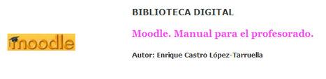 Moodle. Manual para el profesorado. | educación y tic | Scoop.it