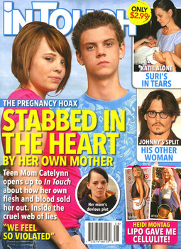 This Week In Tabloids: Editors Actually Admit to Being Hoaxed by Teen Mom's Mom | TVFiends Daily | Scoop.it