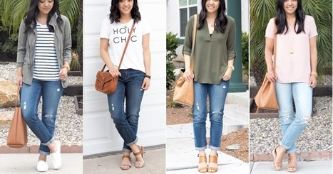 Putting Me Together: REMIX: Boyfriend Jeans and Why They're Great | Jeans Fashion | Scoop.it