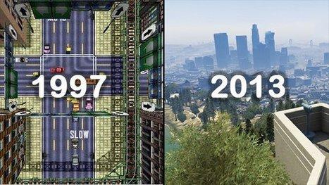 Avant / Après : l'évolution de 10 jeux vidéos mythiques   évolution des jeux vidéos et des technologies numériques   Scoop.it