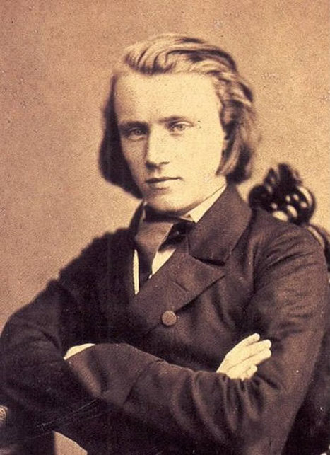 Johannes Brahms - Retronaut | Topics in History | Scoop.it