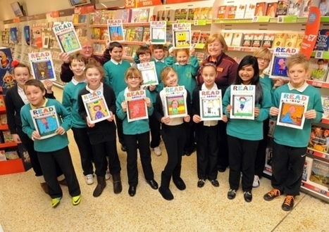 Reading boost in store as shops back campaign - Education - The News | School Libraries around the world | Scoop.it