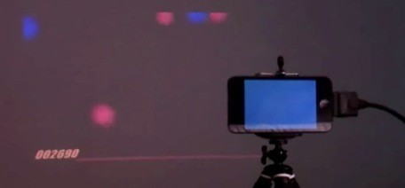 Laser VR: Projector + computer vision + laser pointer = fun! | TUAW ... | DHHpC12 @ICHASS | Scoop.it