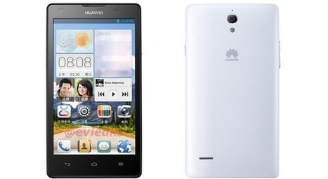 Huawei's Ascend G700 exposed, may be Ascend D2's cheaper cousin | Mobile Technology | Scoop.it