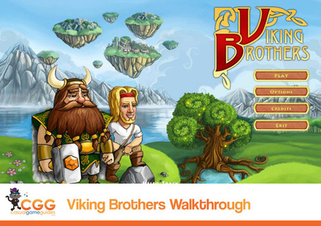 Viking Brothers Walkthrough: From CasualGameGuides.com | Casual Game Walkthroughs | Scoop.it