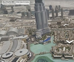 Google's Street View maps the world's tallest building, inside and out | Digital Ketchup! | Scoop.it