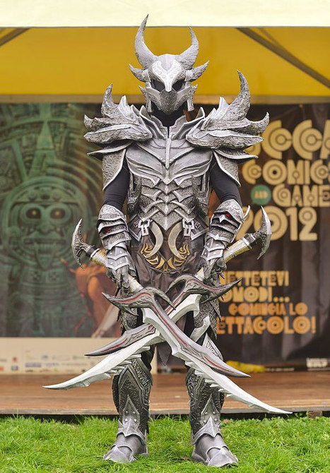 Cosplay of the day: Skyrim Dovahkiin in full... | All Geeks | Scoop.it