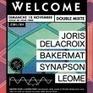 Soirée Welcome ! BAKERMAT / JORIS DELACROIX / SYNAPSON  @ DOUBLE MIXTE, LYON - VILLEURBANNE Cedex - 10 Novembre 2013 | la scène lyonnaise | Scoop.it