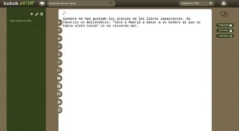 BubokWriter, nuevo editor gratuito de libros electrónicos en formato ePub | Litteris | Scoop.it