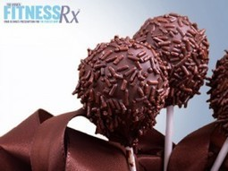 No-Bake Chocolate Cake Pops | FitnessRX for Women | Amanda's RX Life | Scoop.it