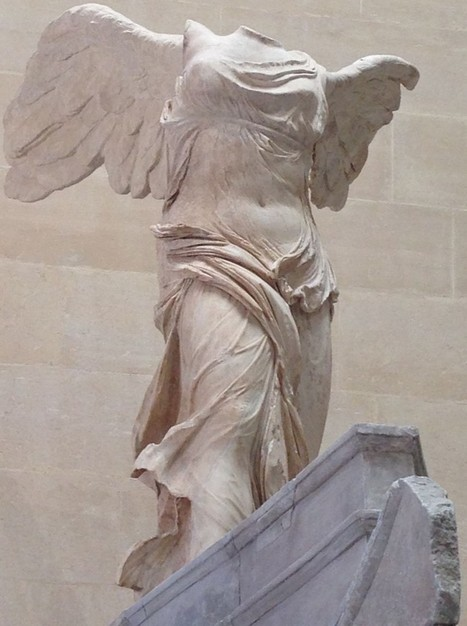VICTORY OF SAMOTHRACE, THE LOUVRE | Art Painting Paris | art | Scoop.it