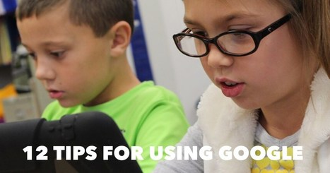 12 tips for using Google Apps with young students | K-5 Computer Lab | Scoop.it