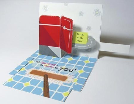 Creative Thank You Cards - 50 Examples | Random | Scoop.it