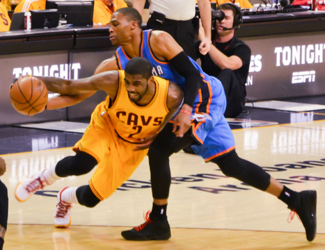 Crossover Moves - The Secrets of Kyrie - Basketball Crossover   Basketball Locker   Scoop.it