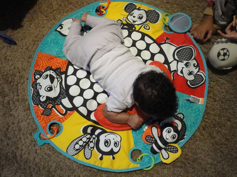 Infantino Roll-A-Round Tummy Time Play Mat | Hello Baby! Giveaway Event | Love My Baby | Scoop.it