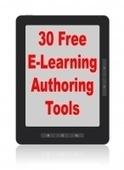 30 Free E-Learning Authoring Tools | Joe DiDonato on Learning ... | e-learning authoring tools | Scoop.it